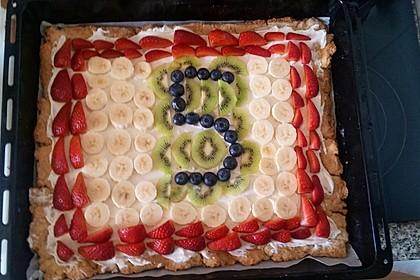 Früchtepizza für den Kindergeburtstag 3
