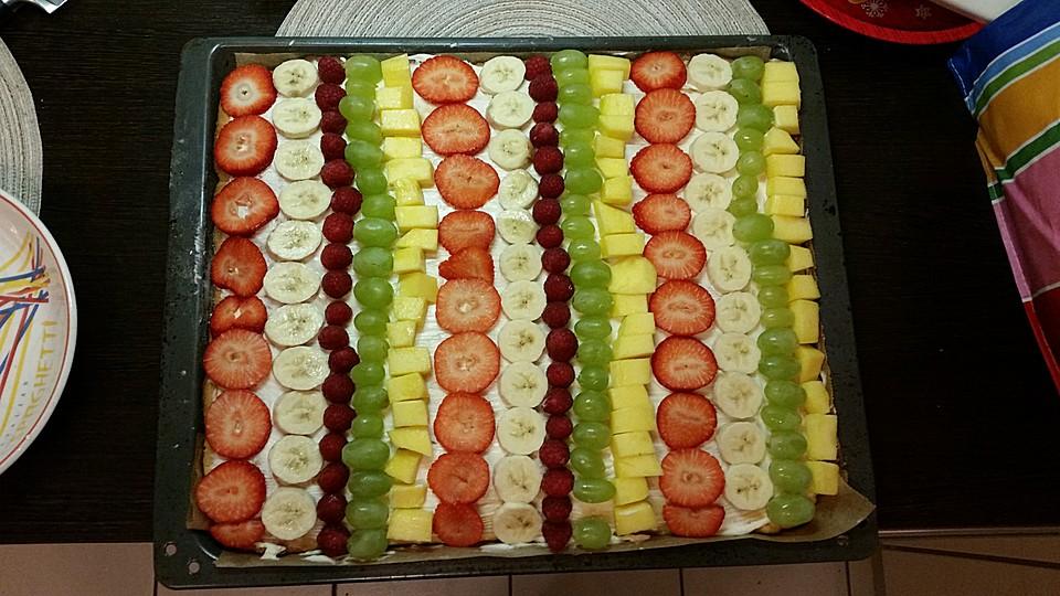 Früchtepizza Für Den Kindergeburtstag Von Loeckchen87 Chefkoch