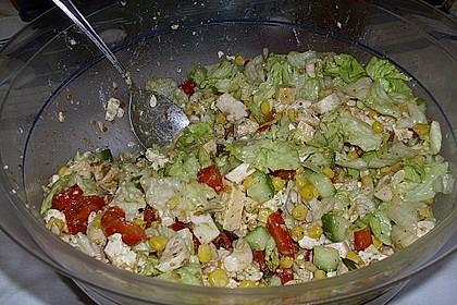Bunter Party - Käse - Salat