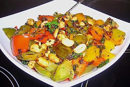 Zucchini - Paprika - Mosaik 1