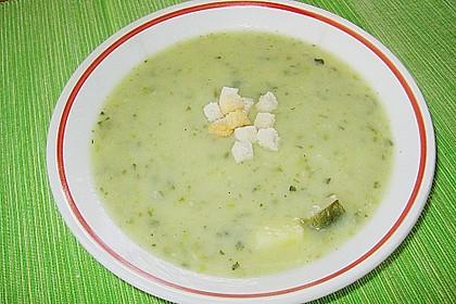 Zucchini - Cremesuppe 5