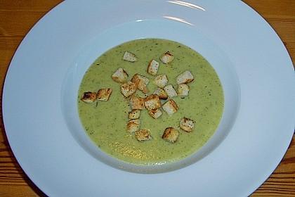 Zucchini - Cremesuppe 4