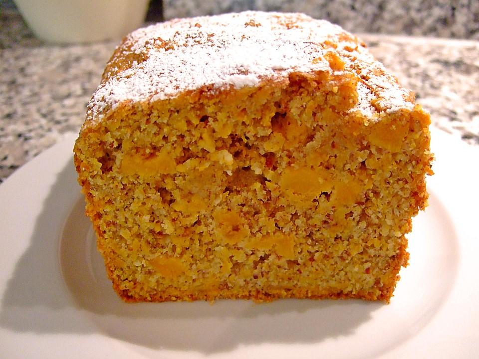 Kurbis Mandel Kuchen Mit Amaretto Von Metta Chefkoch De