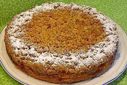 Apfel-Mandarinen-Kuchen