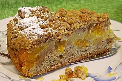 Apfel-Mandarinen-Kuchen 1