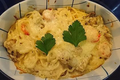 Arti (-geschockte) Pasta mit Garnelen 5
