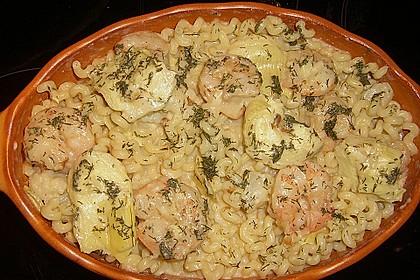 Arti (-geschockte) Pasta mit Garnelen 3