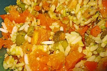 Reissalat mit Hähnchenfleisch und Brokkoli 5