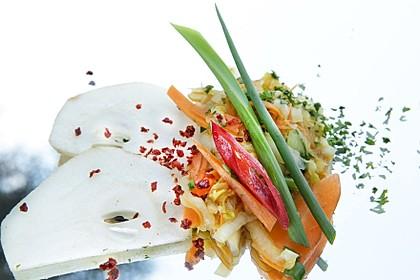 Baechu Kimchi - Chinakohl pikant nach koreanischer Art 4