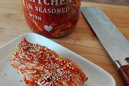 Baechu Kimchi - Chinakohl pikant nach koreanischer Art 2