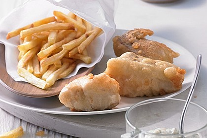 Fish & Chips with Tatar sauce