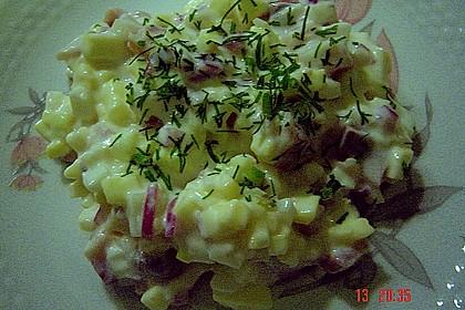 Matjessalat schnell gemacht 3