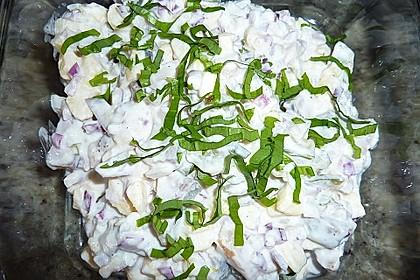 Matjessalat schnell gemacht