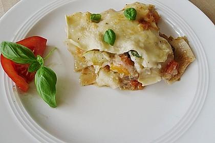 Gemüse - Lasagne mit Auberginen