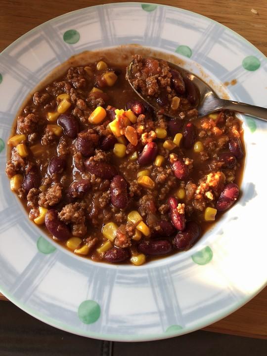 Chili Con Carne Mit Zartbitter Schokolade Von Twinkle30 Chefkoch