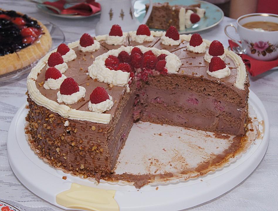 Schokolade Himbeer Torte Von Brisane Chefkoch De