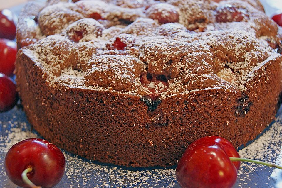 Kirsch Schoko Kuchen Von Benesch Chefkoch De