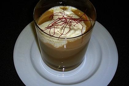Latte Macchiato von getrüffeltem Maronensüppchen 1