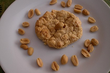 Erdnuss - Cookies 8