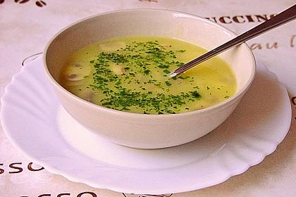 Wiener Kartoffelsuppe mit Pilzen 4
