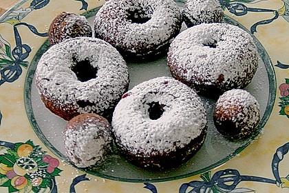 Donuts mit  Sauerrahm und Orangengeschmack