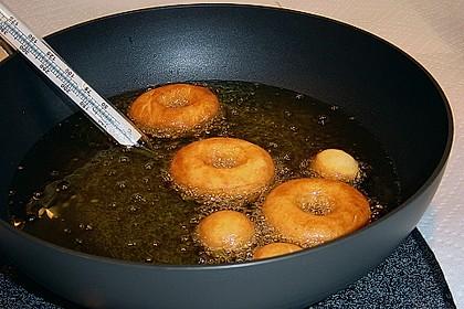 Donuts mit  Sauerrahm und Orangengeschmack 1