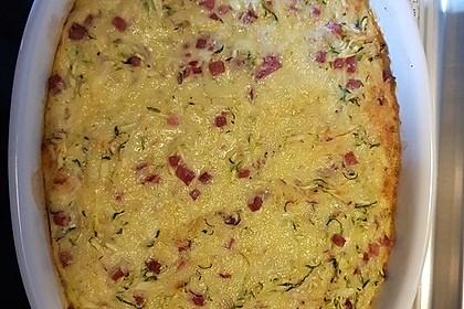Zucchini - Käse - Kuchen (Bild)
