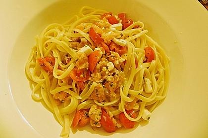 Lachs - Feta - Sauce 4