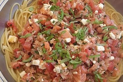 Lachs - Feta - Sauce 1