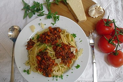 Sauce Bolognese 1