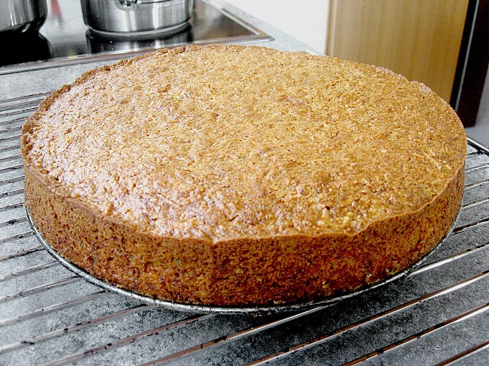 Apfel Karotten Kuchen Ein Gutes Rezept Chefkoch De