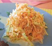 Apfel - Karotten - Lauch - Salat (Bild)