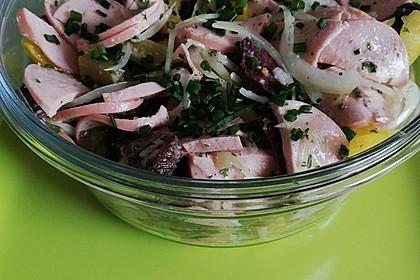 Schwäbischer Wurstsalat 3