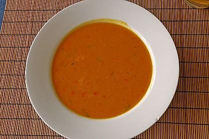 Kürbis - Kokos - Suppe mit roten Linsen 22