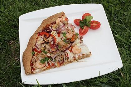 Meeresfrüchte - Pizza 9