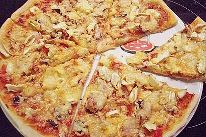 Meeresfrüchte - Pizza 5