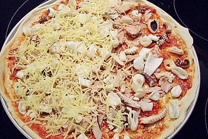 Meeresfrüchte - Pizza 8