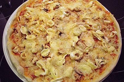 Meeresfrüchte - Pizza 3