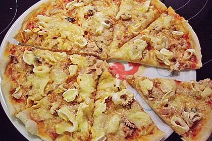 Meeresfrüchte - Pizza 1