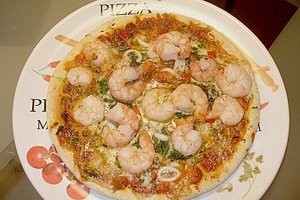 Meeresfrüchte - Pizza 2