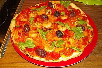 Meeresfrüchte - Pizza 4
