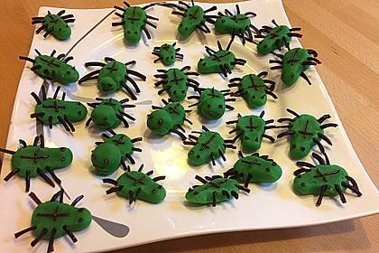 Grüne Spinnen