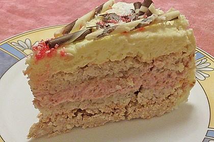 Himbeer - Kokos Wintertraum - Torte 6