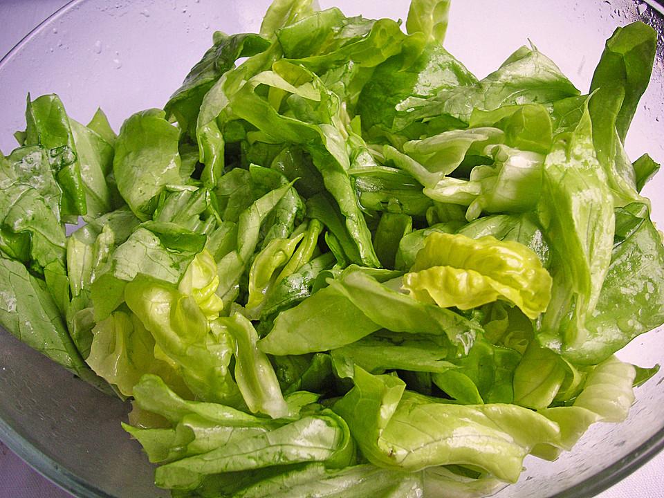 Grüner Salat Mit Zucker