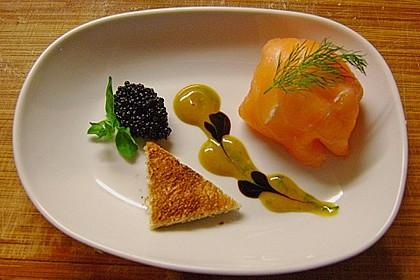 Lachspralinen mit Honig - Dill - Sauce 1