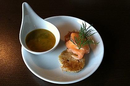 Lachspralinen mit Honig - Dill - Sauce 11