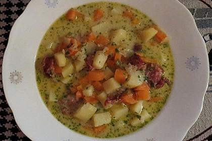 Kartoffeln und Möhren mit Mettwurst 3
