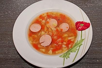 Kartoffeln und Möhren mit Mettwurst 8