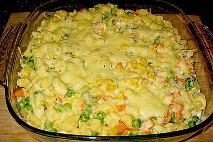 Spätzle - Auflauf mit Gemüse 7