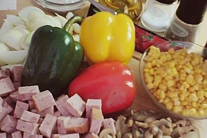 Leberkäse - Ragout mit Gemüse 9